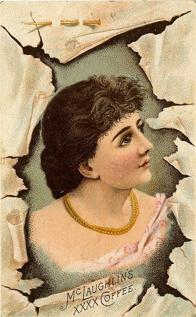 McLaughlin's XXXX Coffee Victorian Trade Card