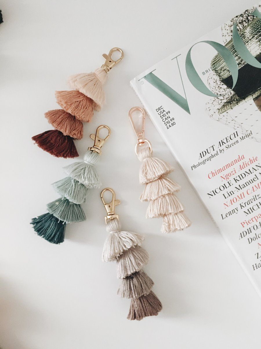 Photo of Mini Tassel Keychain