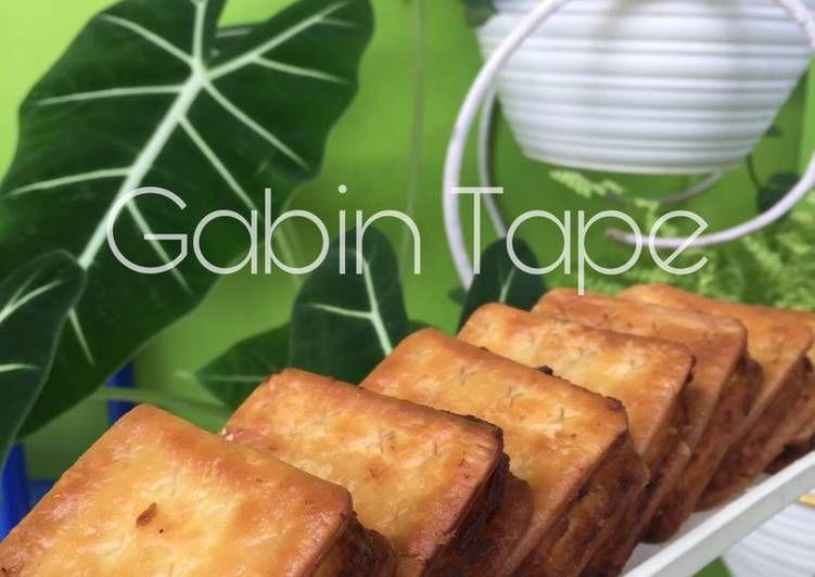Kue Biskuit Tape Gabin Tape Makanan Cemilan Biskuit