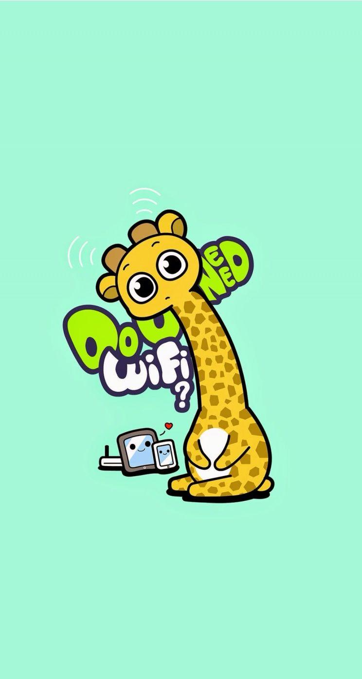 Pin By Quỳnh Anh On Iphone Themes Cartoon Wallpaper Cartoon Animals Animal Wallpaper