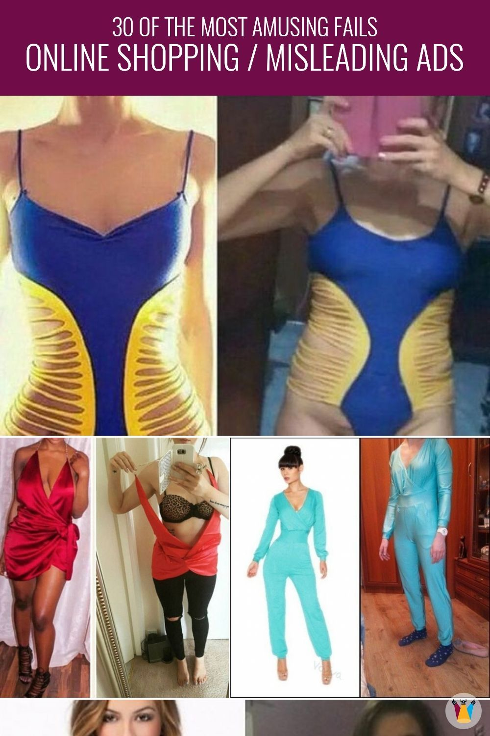 a list of 30 most hilarious online shopping fails that will make you go ROFL! #shoppingfails #