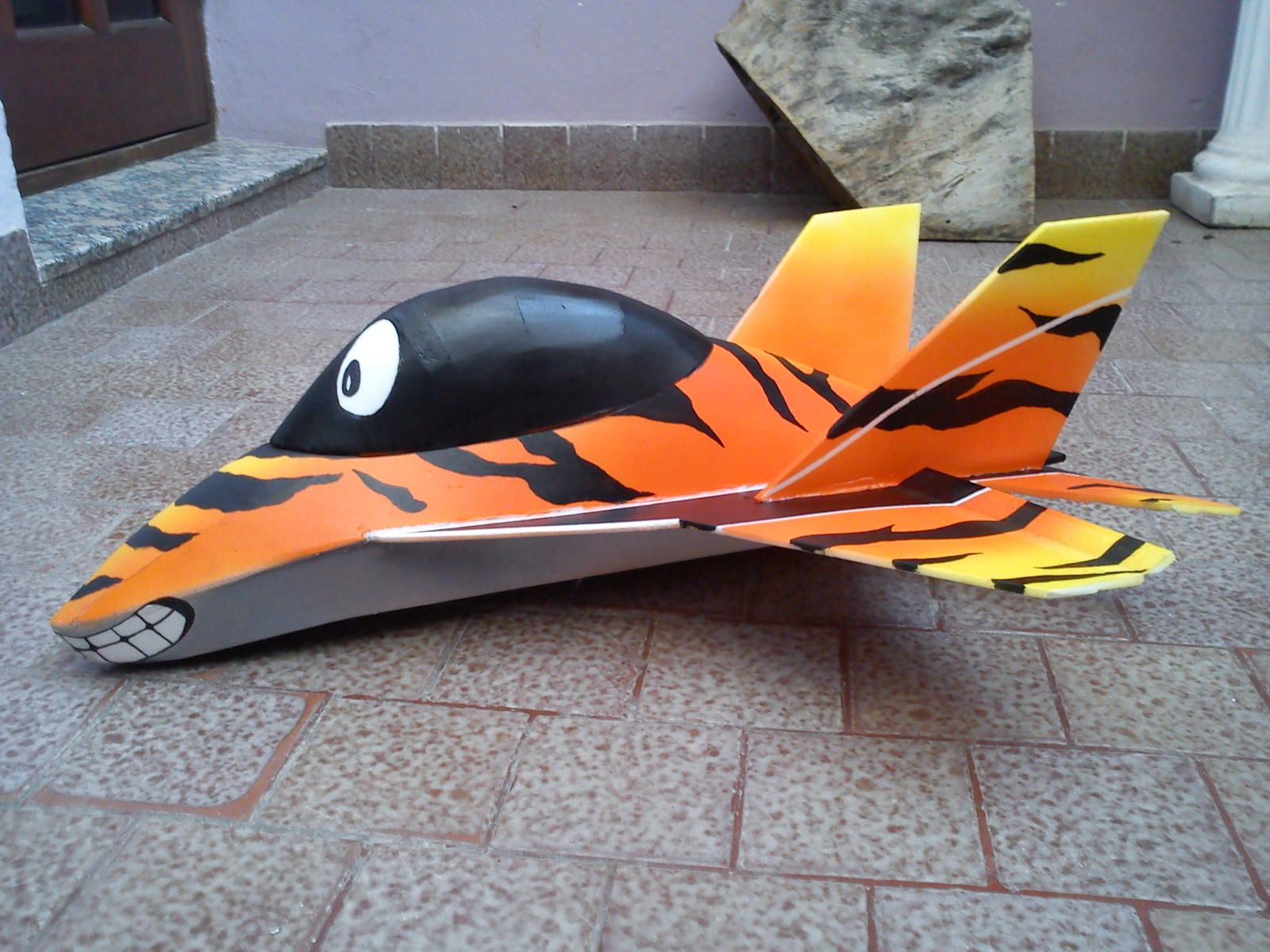 I believe this example is called a mig19 toon plane