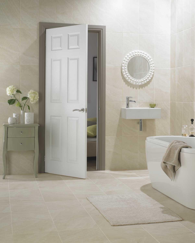 Regency 6 Panel Smooth White Primed Door Interior Doors