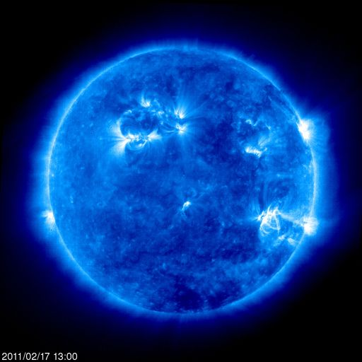 Sun snaps from the SOHO Extreme Ultraviolet Imaging ...