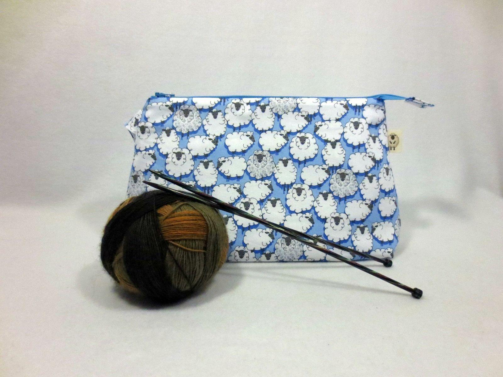 Sheepish in Blue - Medium
