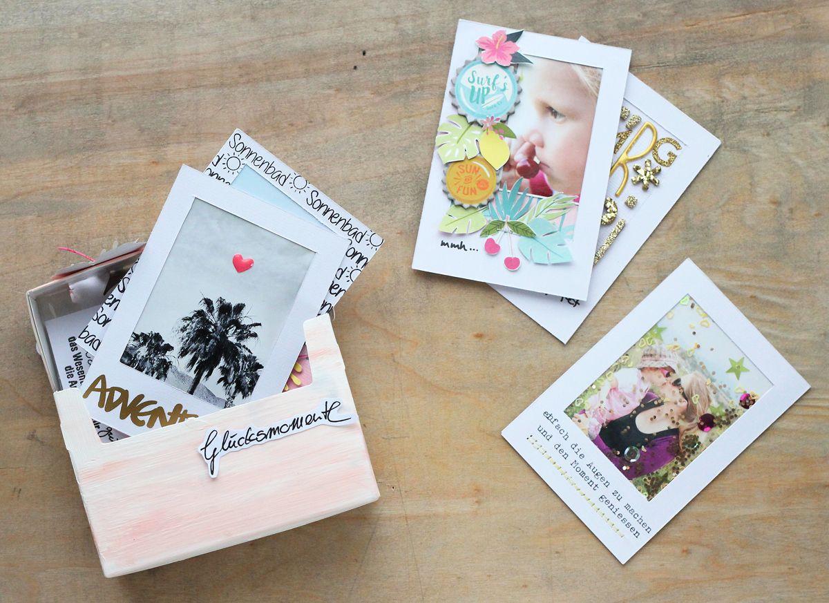 Polaroid minialbum steffi ried sbw inspirationsgalerie my minialbums pinterest - Fotoalbum dekorieren ...