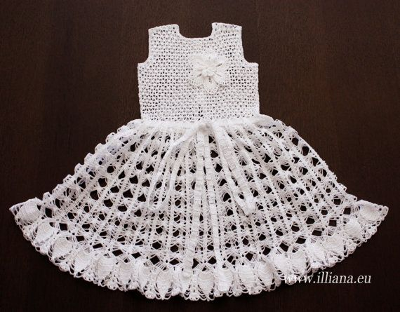Crochet Dress PDF Pattern no 91 | Pinterest | Patrones, Vestidos de ...