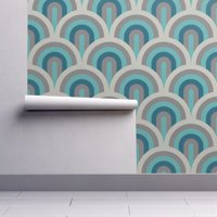 peel and stick wallpaper art deco Art