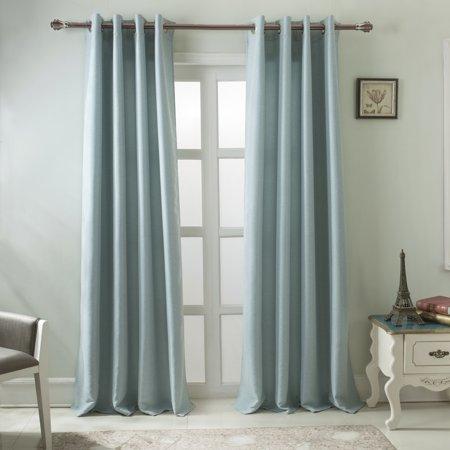 Burma 54 X 84 In Room Darkening Grommet Single Curtain Panel In