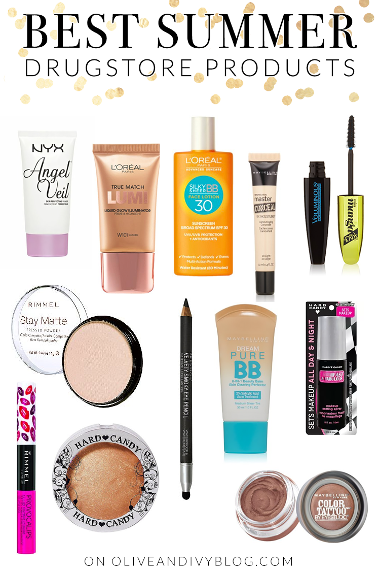 Best Summer Drugstore Products Summer, Makeup and Summer