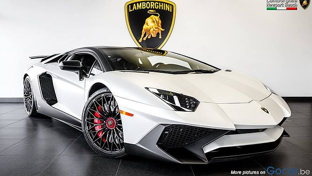 Bijzonder Exclusieve Lamborghini Aventador Sv Voitures