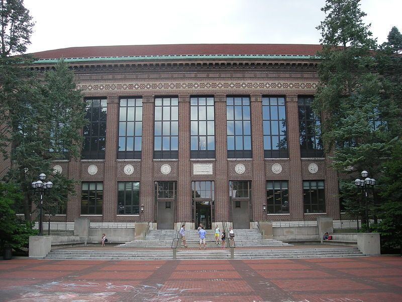 The William L Clements Library on the central campus of the - umich resume builder