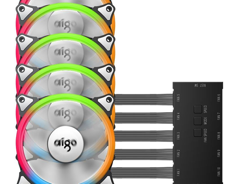 Best Price Aigo Aurora C5 Rainbow Lights Colorful Rgb Adjustable
