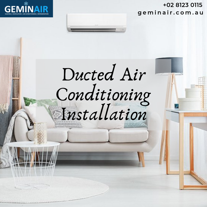 Geminair Offers Efficient Ducted Air Conditioning Installation