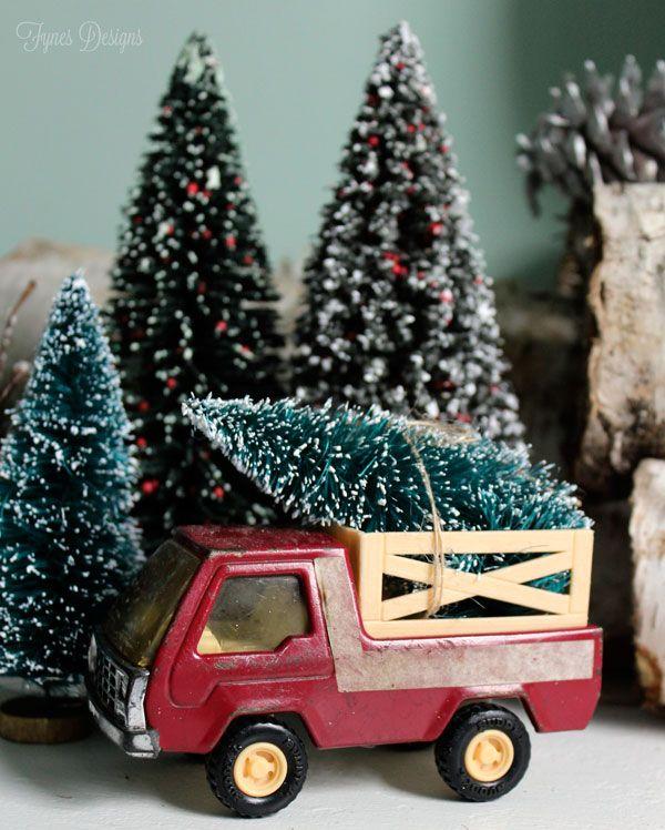 Best vintage christmas trees ideas on pinterest