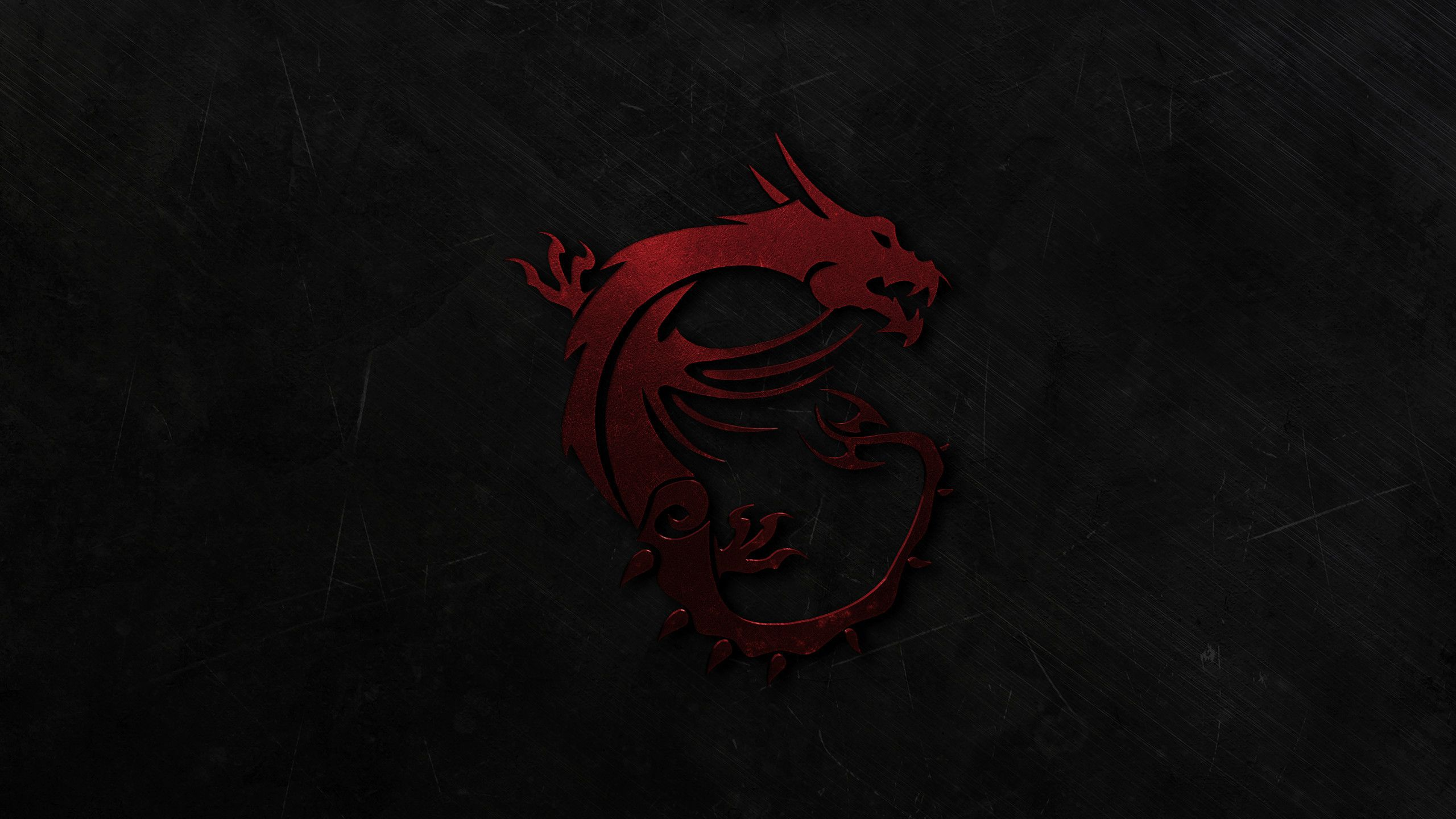 Res 2560x1440, MSI Gaming Dragon Wallpaper V2 (Red) by