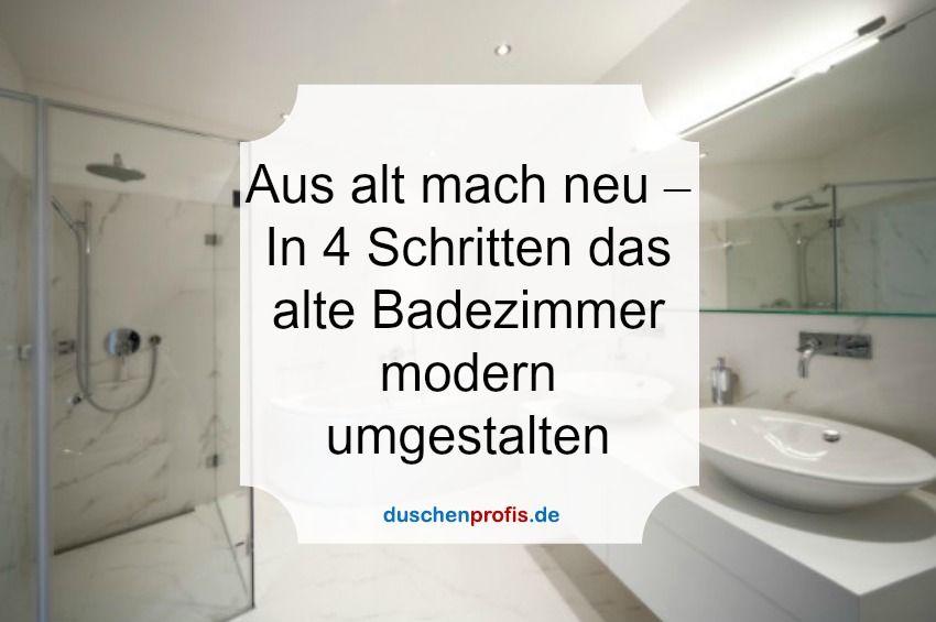 Ihr Altes Badezimmer Hat Dringend Einen Neuen Look Nötig? Wir ... Badezimmer Modern Und Alt