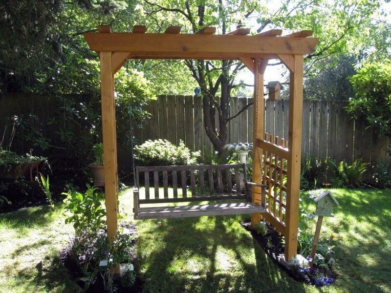 Savvy And Inspiring Garden Swing Nz That Will Impress You Garden Swing Backyard Homemade Swing Set