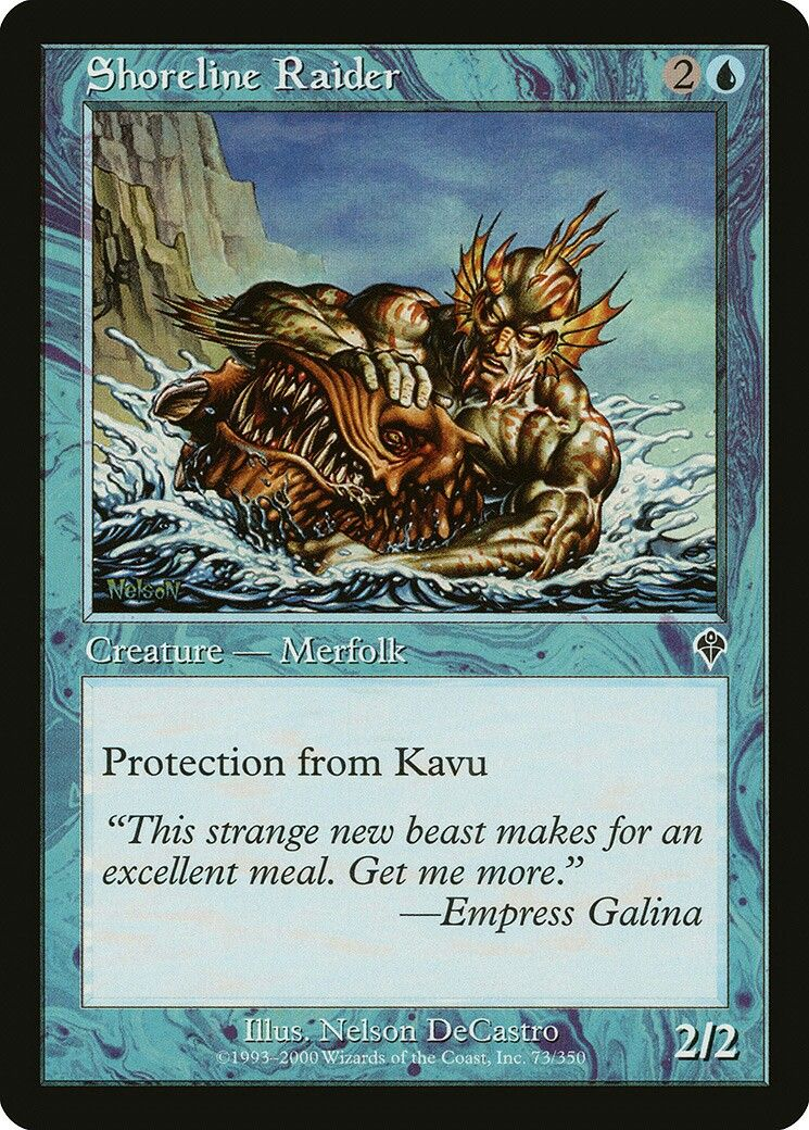 Free shipping! DDT 1 x  Master of the Pearl Trident NM- EN-MTG