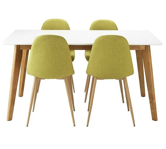 Buy Hygena Beni Dining Table And 4 Chairs
