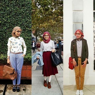 Inspirasi Gaya Hijab Vintage Fashion in 2019