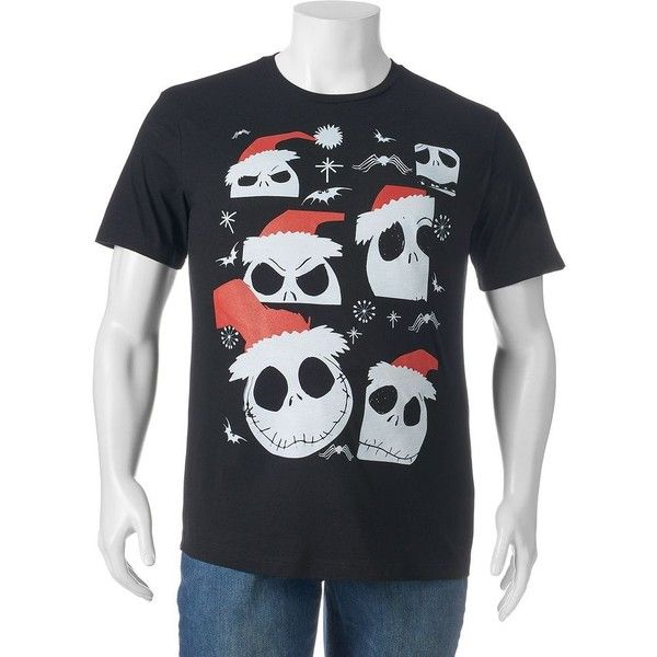 big tall the nightmare before christmas tee 15 liked on polyvore featuring