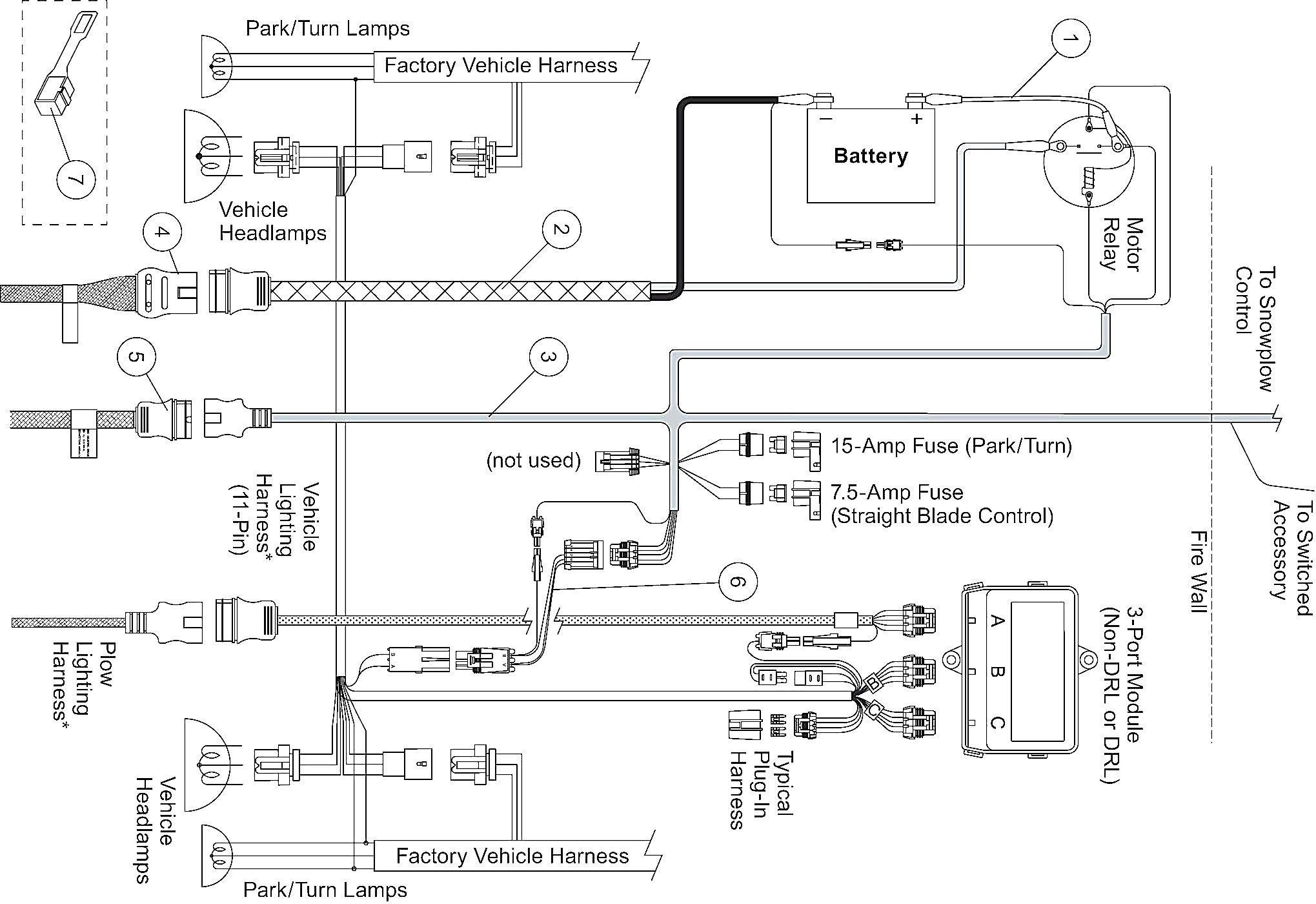 Boss Rt3 Wiring Diagram New in 2020 Snow plow, Diagram