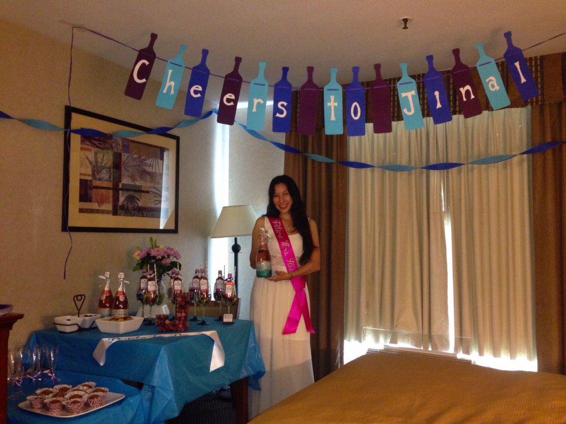 Bachelorette decorations