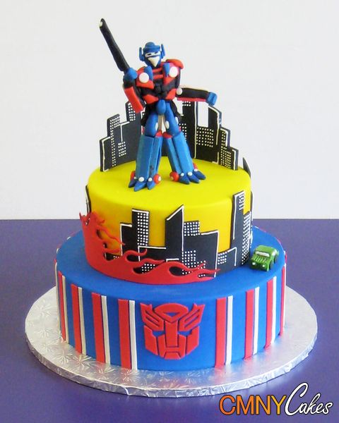 Transformer Cake Cupcake And Cookie Ideas