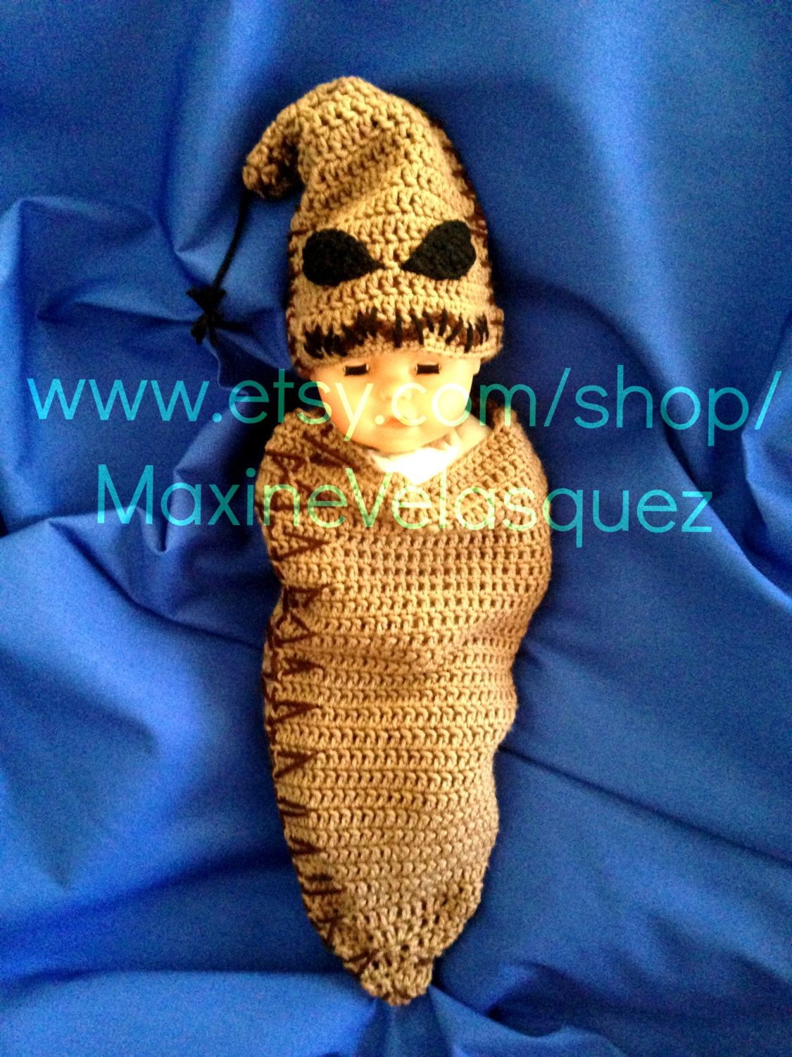 Crochet Baby Newborn Nightmare Before Christmas Inspired Oogie ...