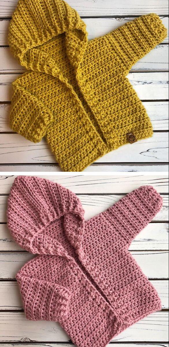 Photo of Crochet baby Hoodie – Design Peak