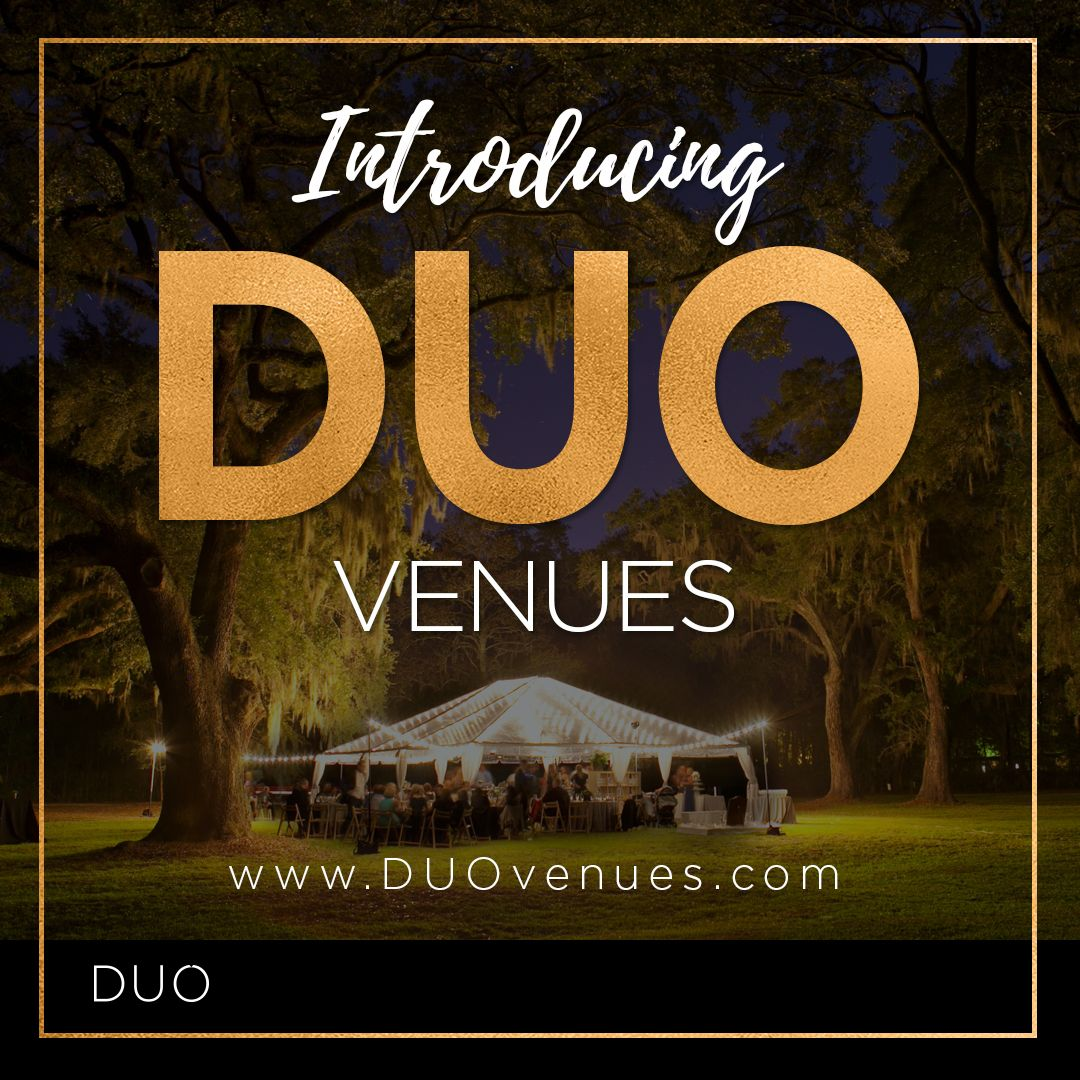As experts in the wedding and event industry, we are happy to introduce you to DUO Venues! DUO is a marketplace of high-end private properties for exclusive events. Visit www.DUOvenues.com to learn more!