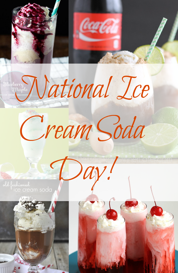 Ice Cream Soda Day