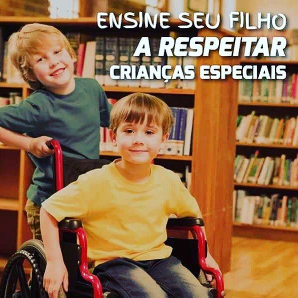 #Respeito #criancasEspeciais