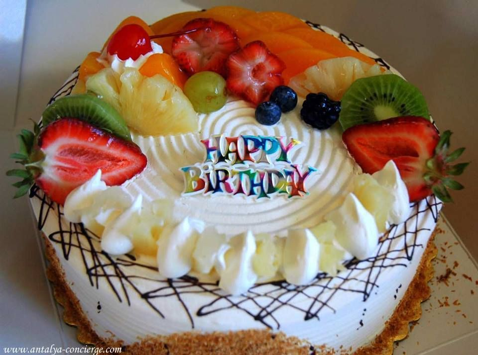 BirthdayParty Organization Events in Antalya Balloons Cake