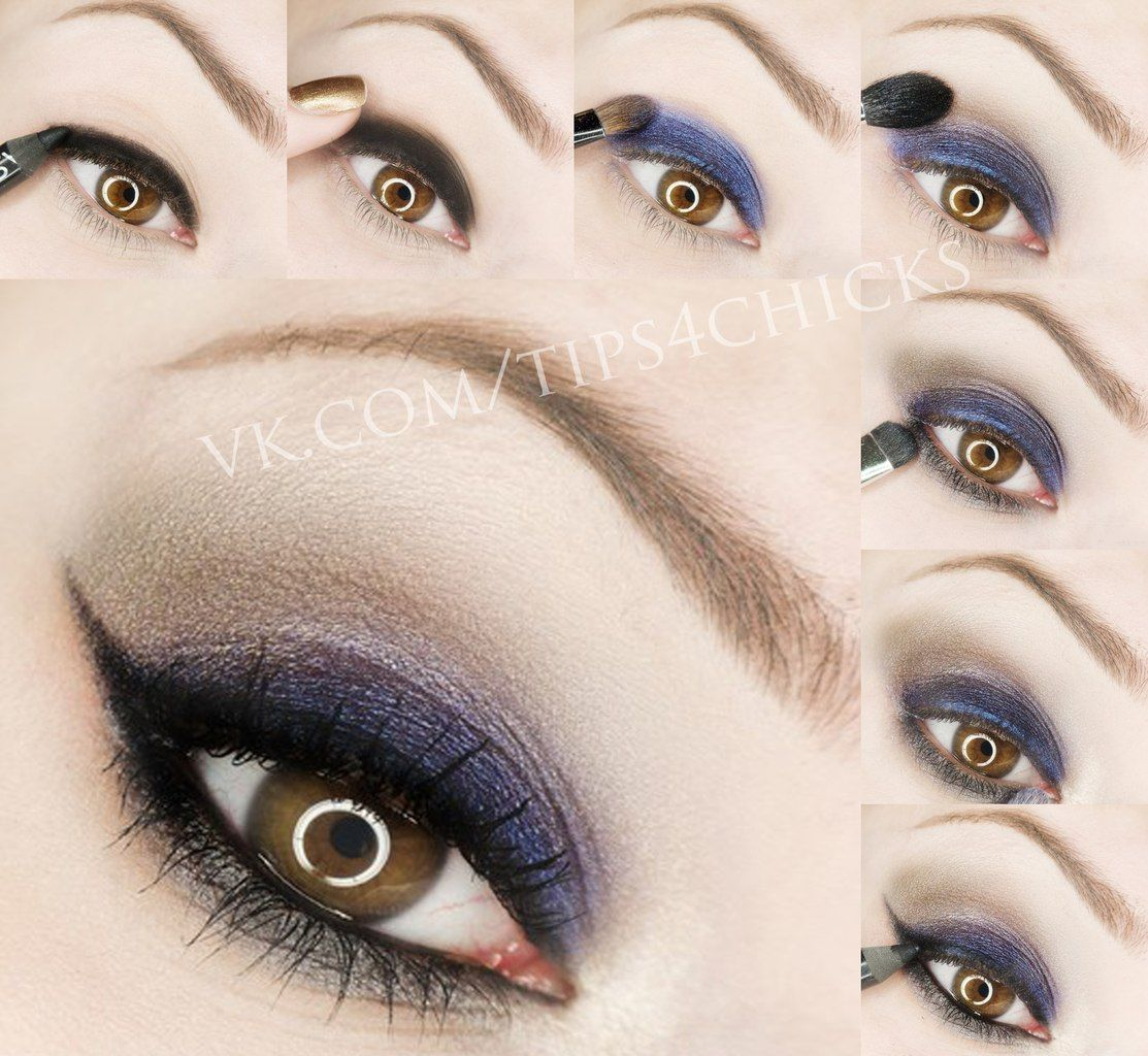 Navy blue taupe makeup tuto make up pinterest taupe makeup navy blue taupe makeup tuto baditri Image collections
