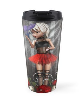 #Like it? # Goth Fashion Girl over Skulls and Roses Travel Mugs Goth Girl Skull and https://t.co/RpjAKHAZOU https://t.co/DAc3Vy2QGg https://t.co/RpjAKHAZOU