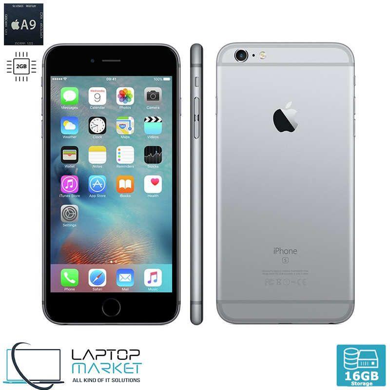 Apple Iphone 6s Plus 16gb Space Grey Dual Core 2gb Ram Unlocked Iphone Apple Iphone 6s Plus Apple Iphone