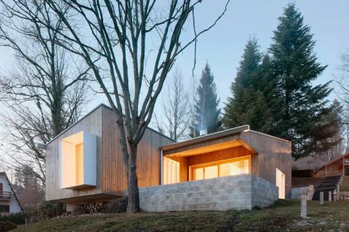 Pyrenees CottageA small residential area in the Pyrenees is the location of a small summer cottage by MOGAS ARQUITECTES SL which was designed as mountain shelter: a home of few meters, low technology and built with a limited palette of materials. The...