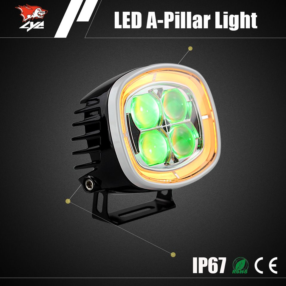 Factory Price 40w Hot Sale Led Work Light For Electric Car Accessory Wiring Daylight Running Lights Drls On A Caravan Made In