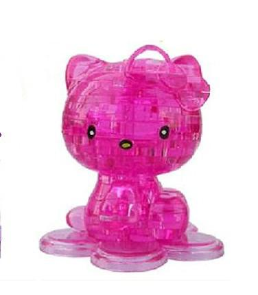 3D crystal puzzle hello kitty