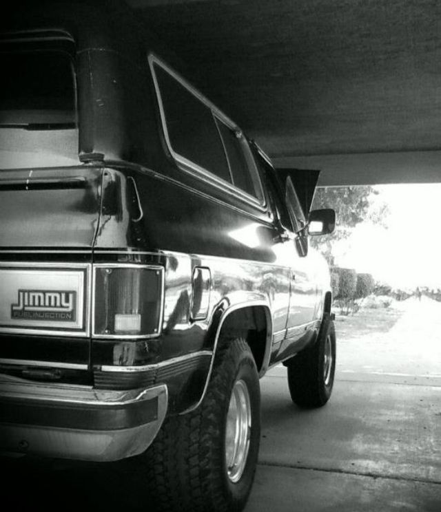 My 89 Gmc Jimmy Gmc Trucks Gmc Chevrolet