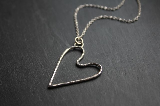 Silver Heart Pendant - Sold
