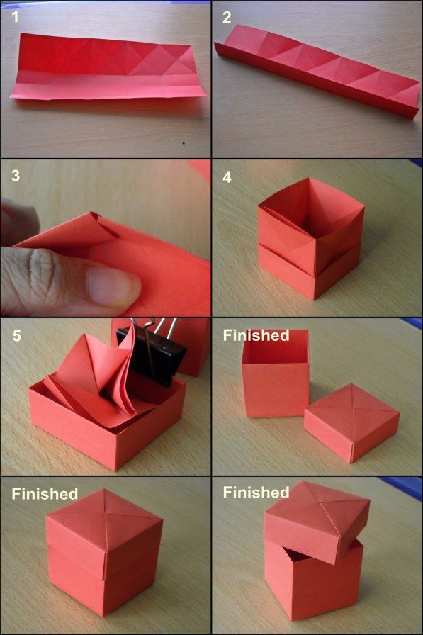 Lovely box idea for those little gifts of thanks | origami ...