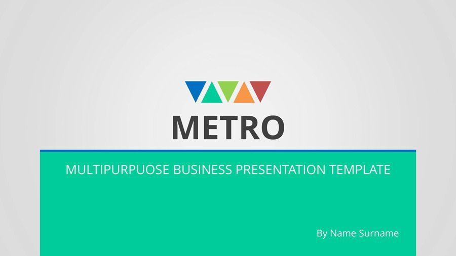 Metro Multipurpose PowerPoint Presentation