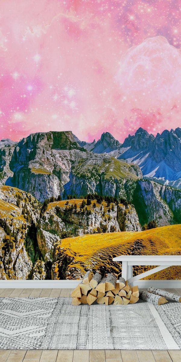 Fantasy Land Wall Mural / Wallpaper Landscapes Wall