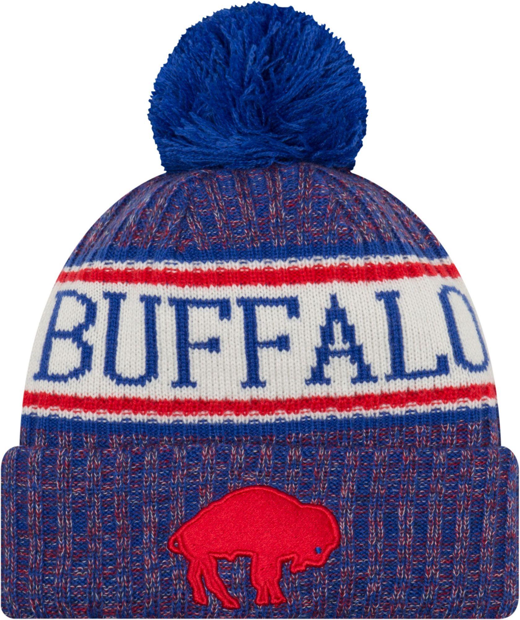 f8598a963b3ab7 New Era Men's Buffalo Bills Sideline Cold Weather Blue Sport Knit ...