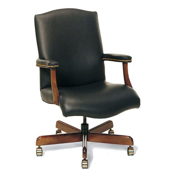 Fairfield Chair 1049 35 Taft Office Swivel Leather Swivel