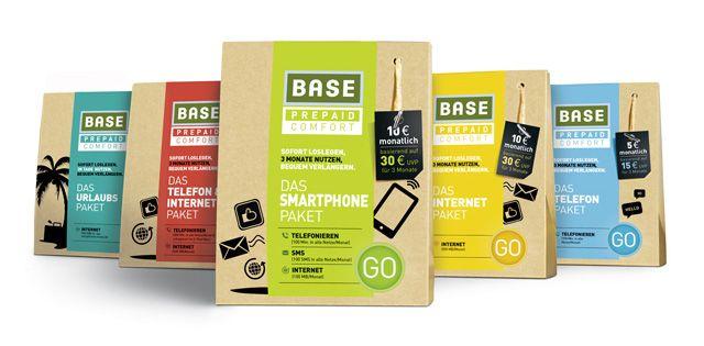 BASE GO Pakete