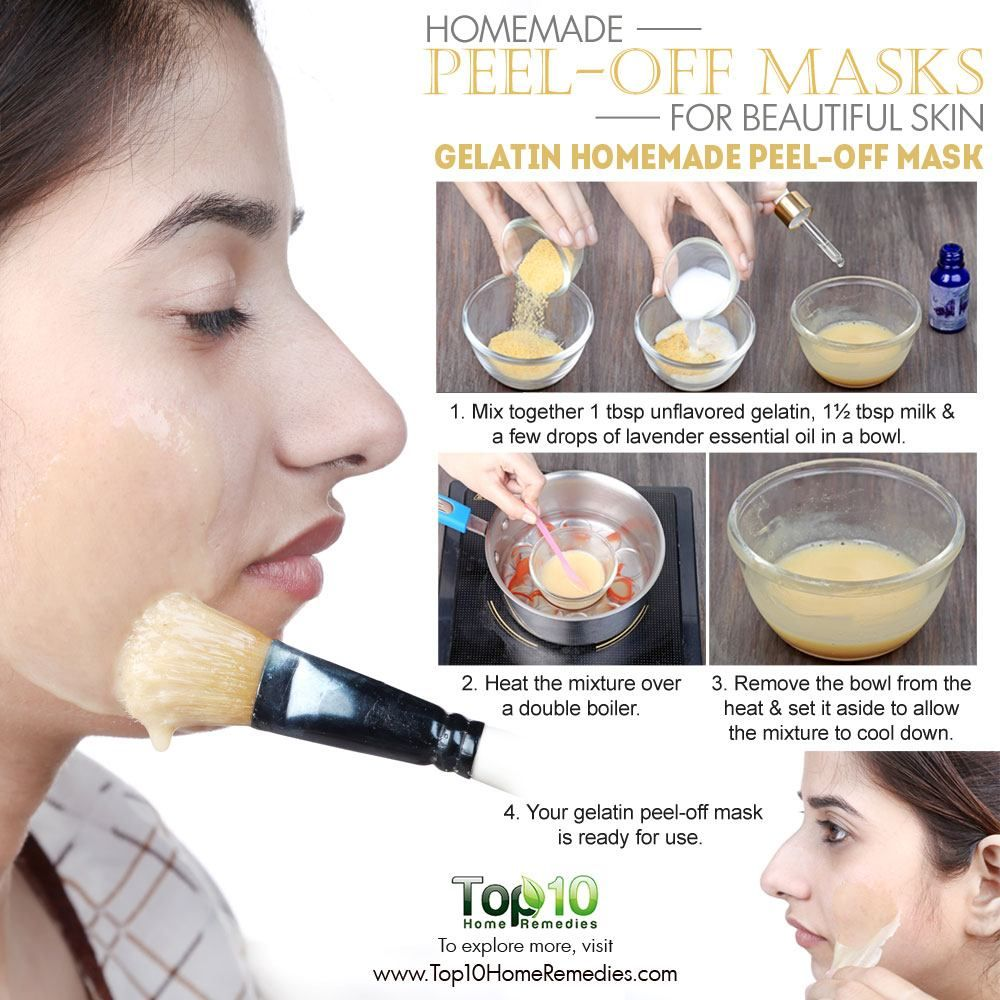 Homemade Peel Off Masks For Glowing Spotless Skin Health